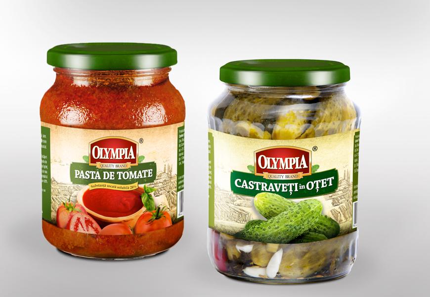 Olympia – Castraveti & Tomate
